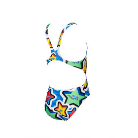 arena Frolic Tech One Piece Swimsuit Girls royal/multi